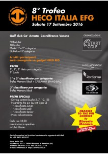 Locandina 50x70 Golf 2016