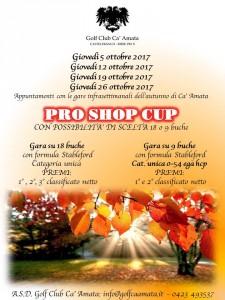 PRO SHOP CUP autunno