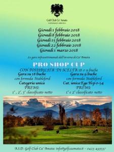 PRO SHOP CUP febbraio-marzo