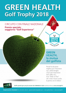 Green Health Golf Trophy 2018