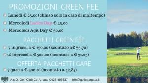 PROMO GREEN FEE